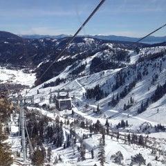 Photo taken at Squaw Valley Ski Resort by Sadie L. on 2/19/2012