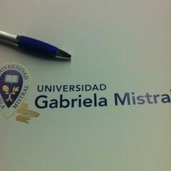 Photo taken at Universidad Gabriela Mistral by Ivonne B. on 7/25/2012