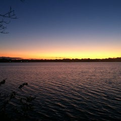 Photo taken at Lake Calhoun by Timothy B. on 10/23/2011