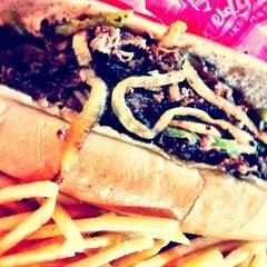 Photo taken at Freddy's Frozen Custard & Steakburgers by Leanna K. on 6/17/2012