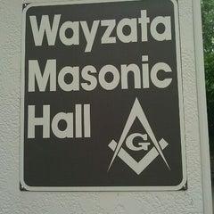 Photo taken at Wayzata Masonic Lodge #205 by Timothy J. on 8/27/2011