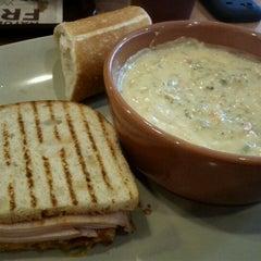 Photo taken at Panera Bread by Liz Pierce on 10/8/2011
