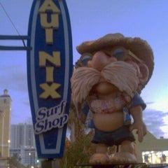 Photo taken at Maui Nix Surf Shop - The Original by Orlando P. on 12/3/2011
