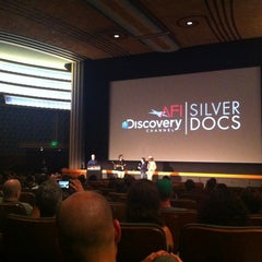 Photo taken at AFI Silver Theatre and Cultural Center by Michelle W. on 6/24/2012
