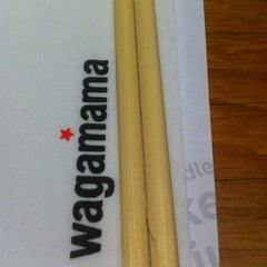 Photo taken at Wagamama by Hash M. on 1/7/2012