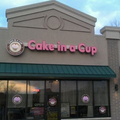 Photo taken at Cake In a Cup by David P. on 2/1/2012