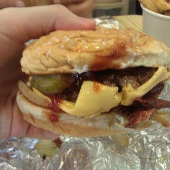 Photo taken at Five Guys by Zachary M. on 4/29/2011