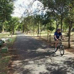 Photo taken at Parque Mirador Sur by Carlos M. on 1/22/2012