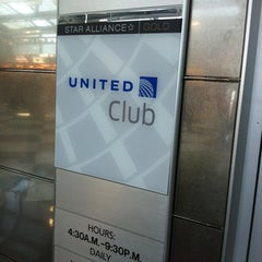 Photo taken at United Club by Jace C. on 10/3/2011