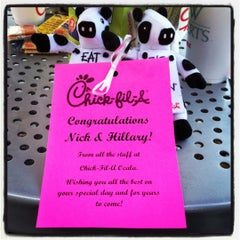 Photo taken at Chick-fil-A by Hilary F. on 6/2/2012