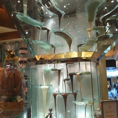 Photo taken at Jean Philippe Patisserie by Tina N. on 4/8/2011