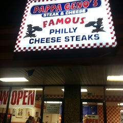 Photo taken at Pappa Geno's Steak & Cheese by Chas H. on 9/22/2011