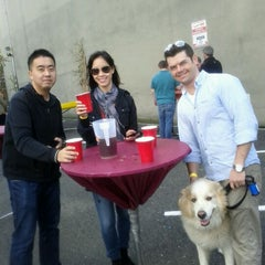 Photo taken at Hoboken Oktoberfest by Lana W. on 10/15/2011
