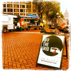 Photo taken at Off the Grid: UN Plaza by Off the Grid on 4/17/2012