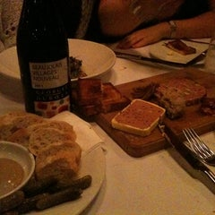 Photo taken at La Brasserie by Alan M. on 11/17/2011
