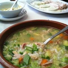 Photo taken at El Caserío Restaurante Bar by Sergio S. on 11/7/2011