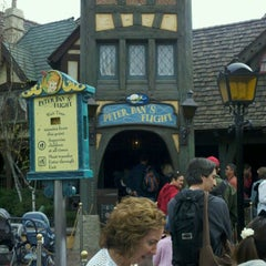 Photo taken at Peter Pan's Flight by Mike R. on 3/12/2011