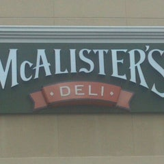 Photo taken at McAlister's Deli by Matthew M. on 11/6/2011