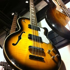 Photo taken at Gruhn Guitars by Tom B. on 11/9/2011