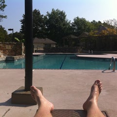 Photo taken at Bottom Pool At Ridge Crossings by Chris M. on 9/1/2011