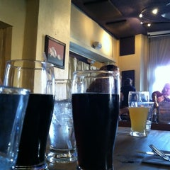 Photo taken at Earth Bread & Brewery by Melanie D. on 4/28/2012
