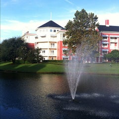 Photo taken at Disney's Boardwalk Villas by James B. on 10/19/2011