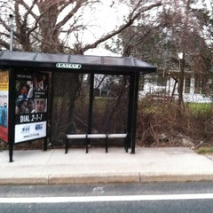 Photo taken at Eastward Bus Stop by Patrick S. on 2/1/2012