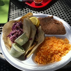Photo taken at Taco Shack by Dominic P. on 3/11/2012