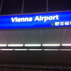 Photo taken at S Flughafen Wien / Vienna Airport by Jürgen B. on 12/30/2010