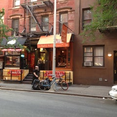 Photo taken at The Kati Roll Company by Delia S. on 6/26/2012
