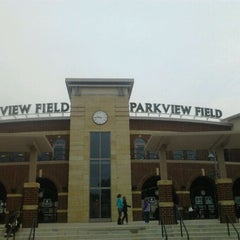 Photo taken at Parkview Field by jeffery m. on 4/30/2012