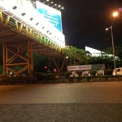 Photo taken at Kalanagar Bus Stop by Ashvini S. on 7/19/2012