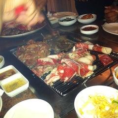 Photo taken at Fresh Korean B.B.Q. by Clark P. on 6/18/2012