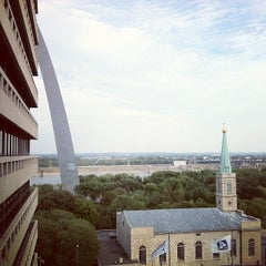 Photo taken at Drury Plaza Hotel - St. Louis at the Arch by Daniel A. on 8/24/2012