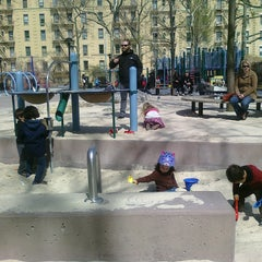 Photo taken at John Jay Playground by Elena V. on 3/26/2012
