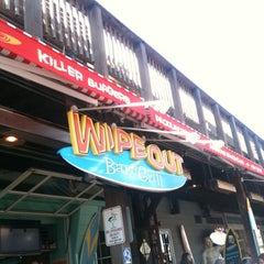 Photo taken at Wipeout Bar & Grill by Janie H. on 2/16/2012