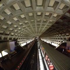 Photo taken at McPherson Square Metro Station by John S. on 4/7/2012