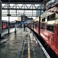 Photo taken at London Waterloo Railway Station (QQW) by Bal B. on 9/9/2012