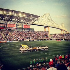 Photo taken at PPL Park by Patrick R. on 5/27/2012