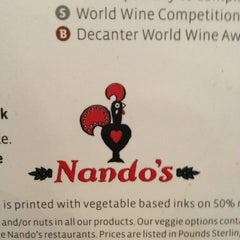Photo taken at Nando's by Sarit S. on 9/7/2012