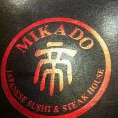 Photo taken at Mikado by Joseph C. on 6/7/2012