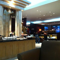 Photo taken at Premier Lounge by Nathalie S. on 3/10/2012