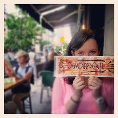 Photo taken at Cavatappo Grill by Matt M. on 5/13/2012