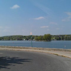 Photo taken at Canandaigua City Pier by Andy H. on 5/13/2012