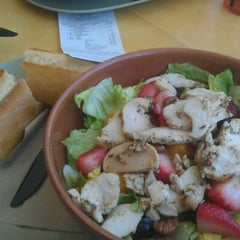 Photo taken at Panera Bread by Tricia B. on 6/7/2012