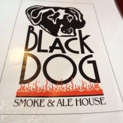 Photo taken at Black Dog Smoke & Ale House by Alex P. on 4/28/2012