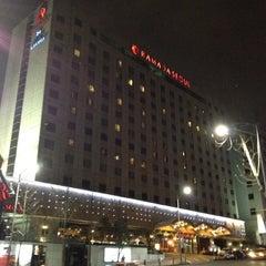 Photo taken at Ramada Seoul Hotel by Thanun E. on 3/2/2012