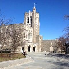 Photo taken at Princeton University by Rachel Z. on 2/26/2012