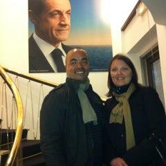 Photo taken at Siège de campagne de Nicolas Sarkozy by Edward C. on 4/23/2012
