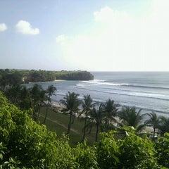 Photo taken at Balangan Beach by Wayan D. on 7/26/2012